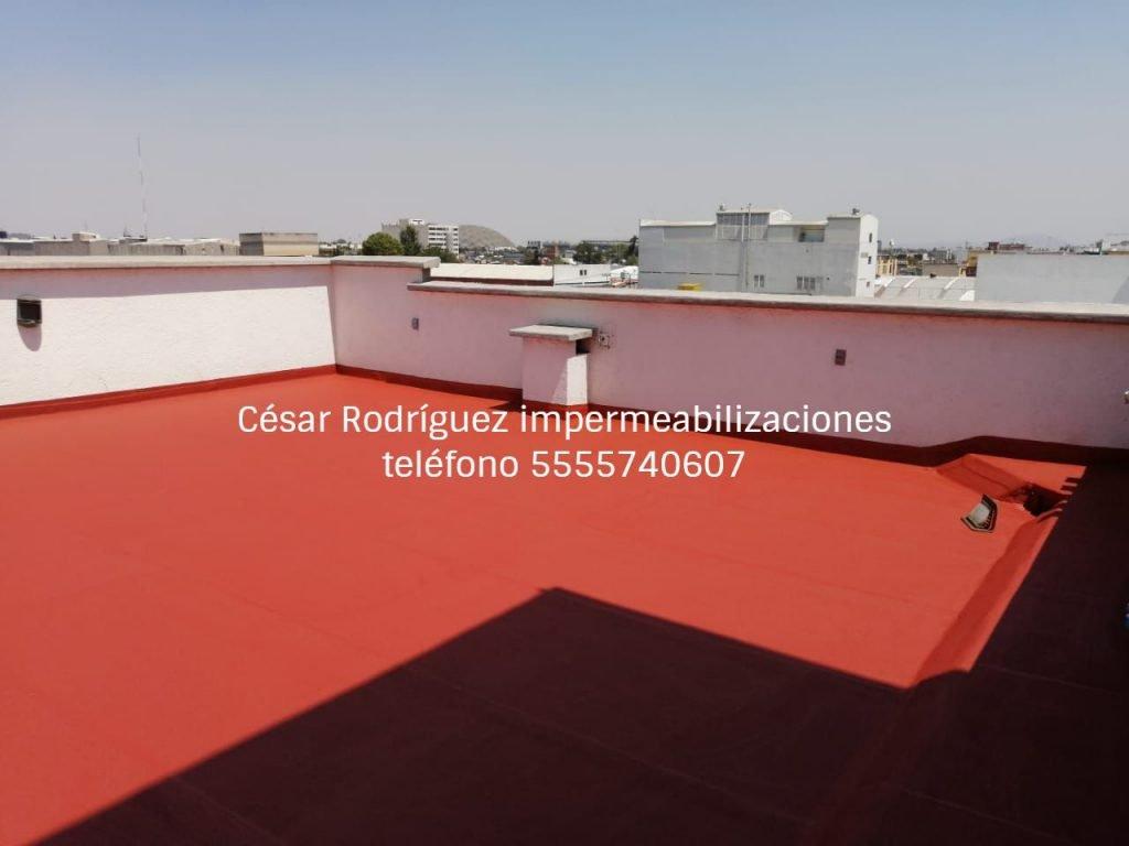 Servicio de impermeabilización imperquimia. Impermeabilizaciones en Ciudad de México y Estado de México